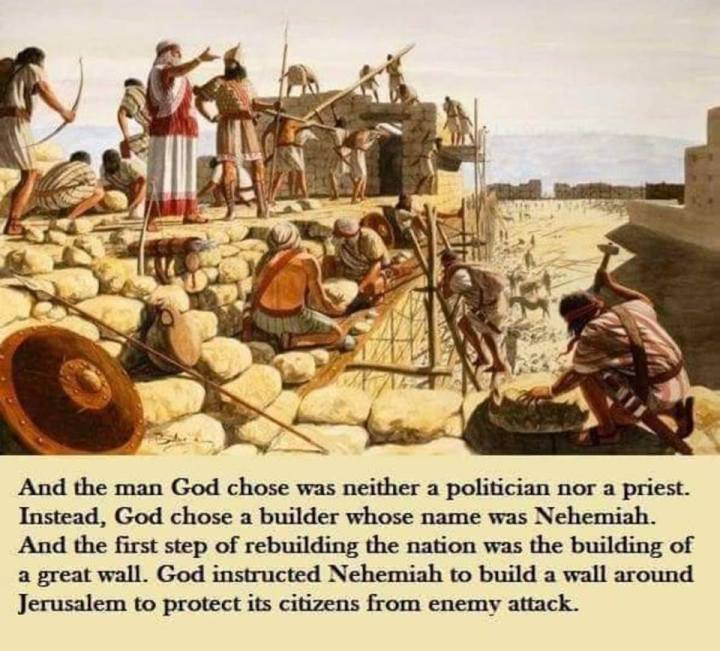 Trump and Nehemiah