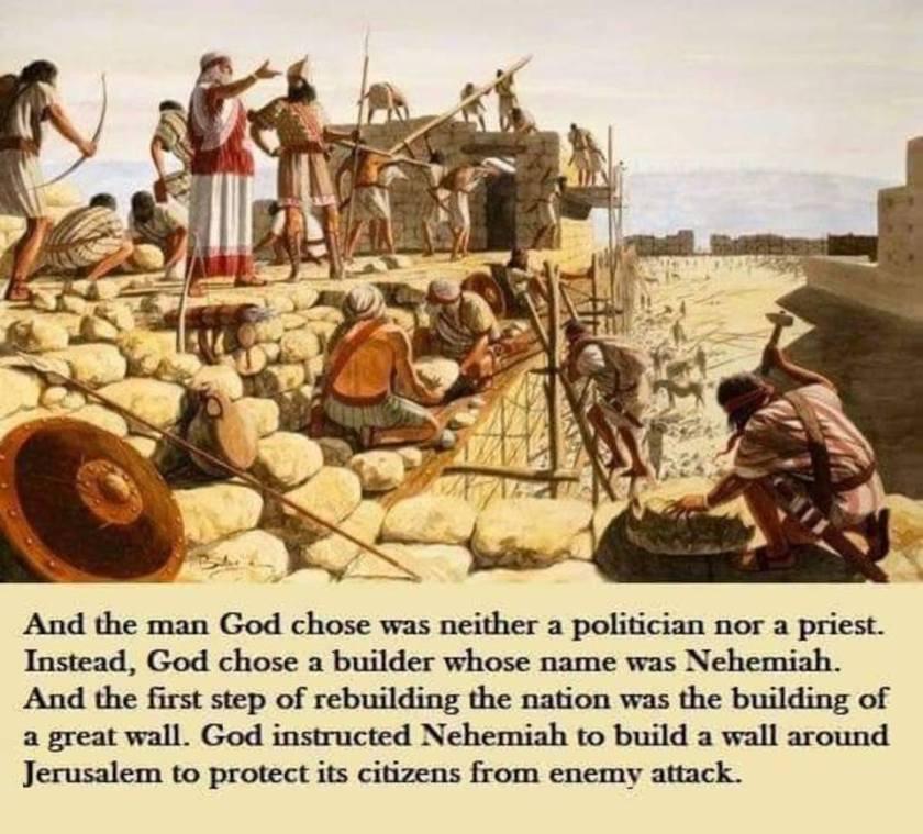 Trump and Nehemiah